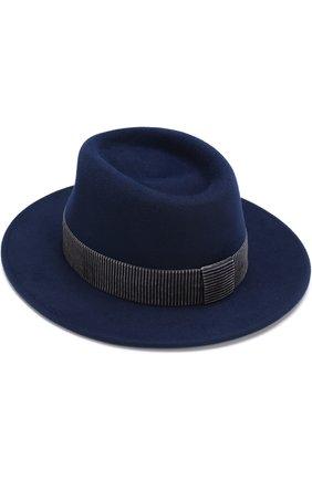 Фетровая шляпа Thadee с лентой | Фото №1