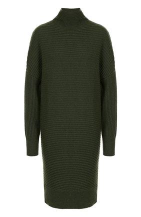 Удлиненный вязаный пуловер из кашемира   Фото №1
