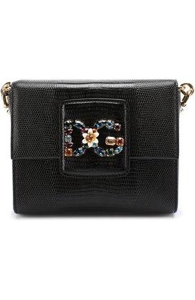 Сумка DG Millennials Dolce & Gabbana черная цвета | Фото №1