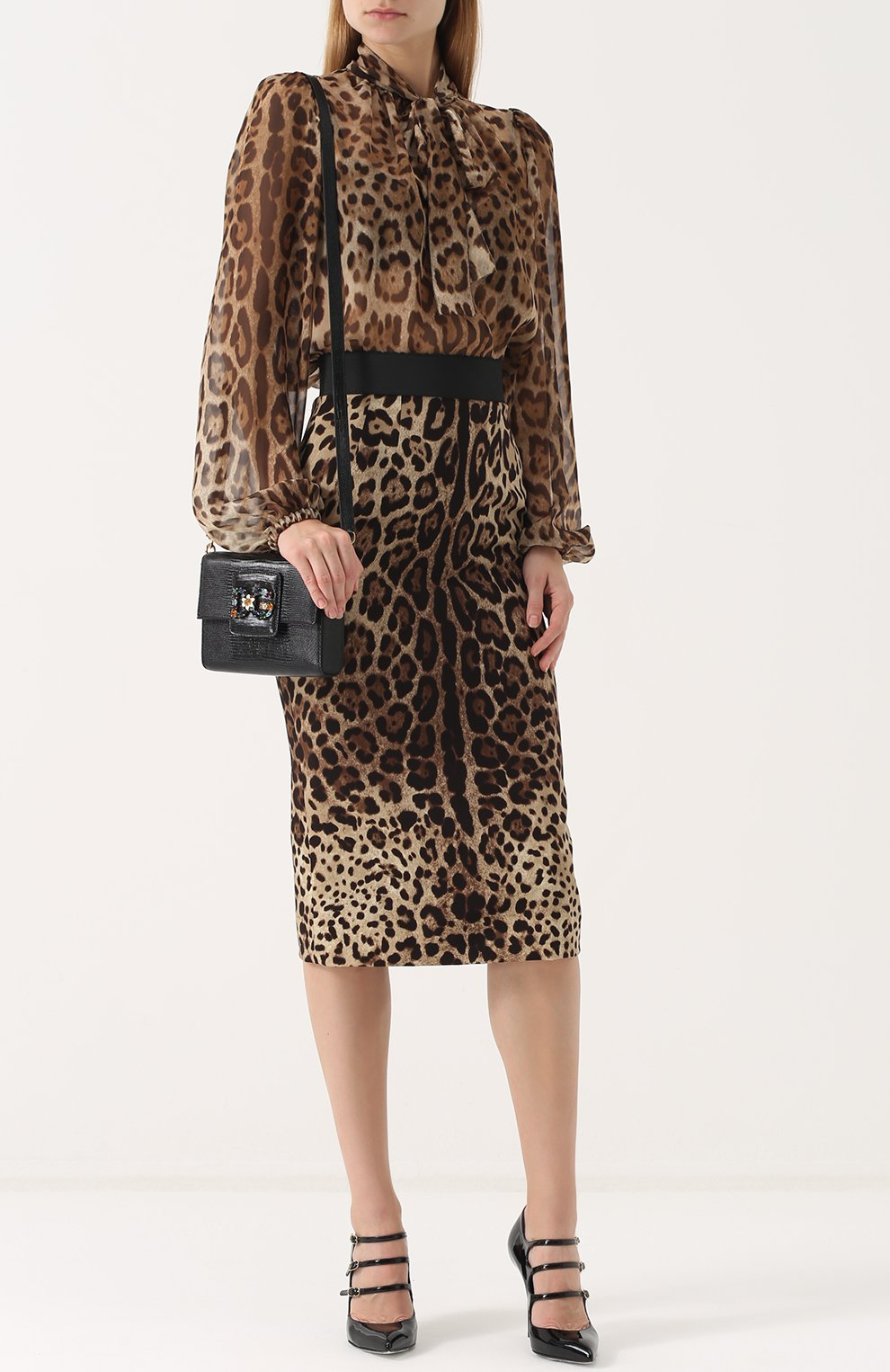 Сумка DG Millennials Dolce & Gabbana черная цвета | Фото №2