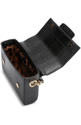 Сумка DG Millennials Dolce & Gabbana черная цвета | Фото №4