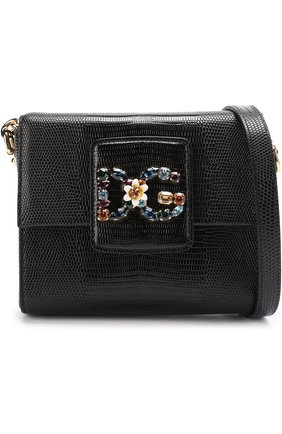 Сумка DG Millennials Dolce & Gabbana черная цвета | Фото №5
