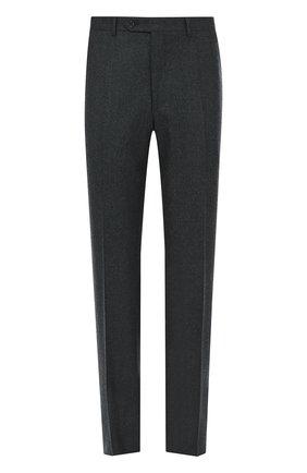 Мужской шерстяные брюки CANALI серого цвета, арт. 71012/AN00019 | Фото 1