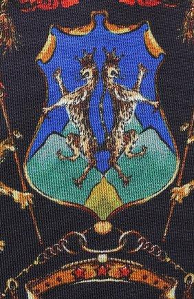 Шелковый галстук с принтом | Фото №3