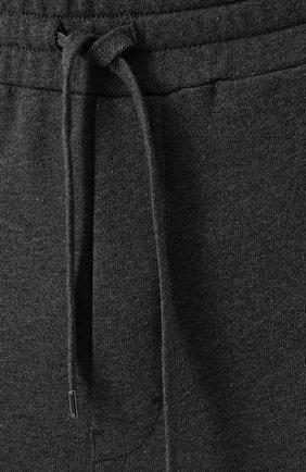 Хлопковые джоггеры с карманами Dolce & Gabbana серые | Фото №5