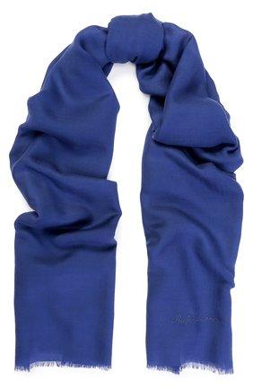 Кашемировый шарф с необработанным краем | Фото №1
