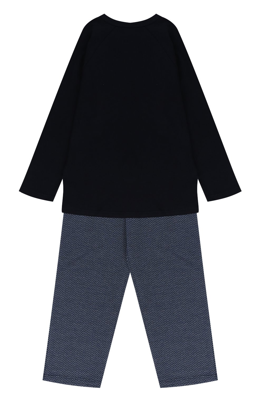 Хлопковая пижама с принтом | Фото №2