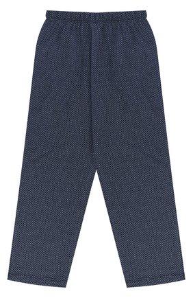 Хлопковая пижама с принтом | Фото №6