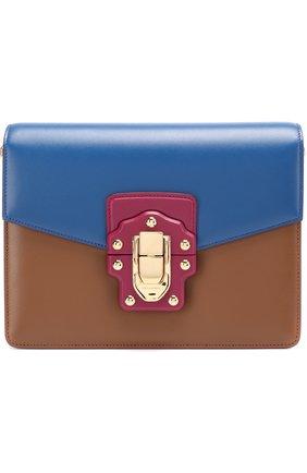 Сумка Lucia Dolce & Gabbana синяя цвета | Фото №1