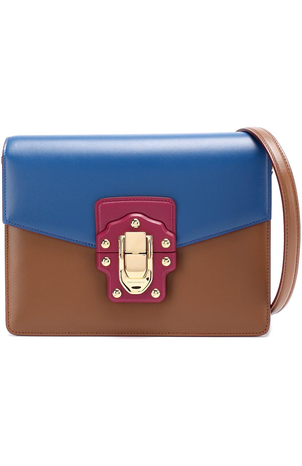 Сумка Lucia Dolce & Gabbana синяя цвета | Фото №5