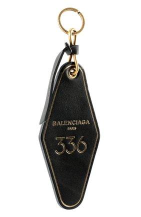 Кожаный брелок для ключей с логотипом бренда | Фото №2