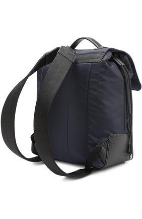 Текстильный рюкзак с внешним карманом на молнии   Фото №3