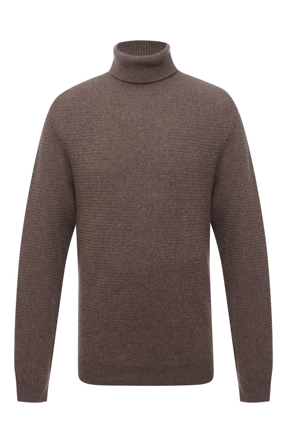 Кашемировый свитер фактурной вязки | Фото №1
