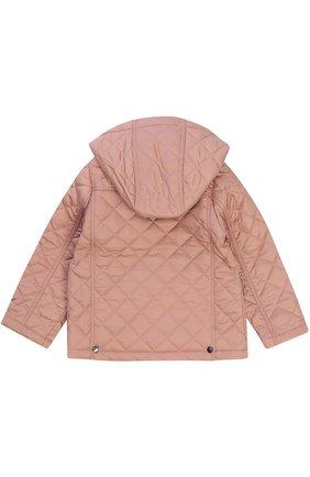 Стеганая куртка с капюшоном | Фото №2