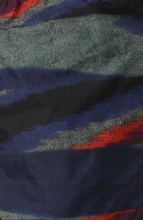 Плавки-шорты с принтом Missoni голубые   Фото №5