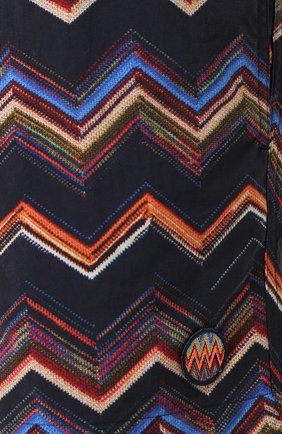 Плавки-шорты с принтом | Фото №5