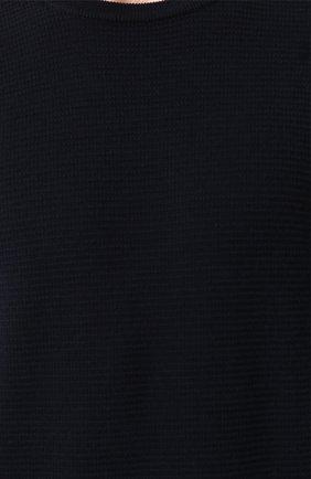 Джемпер из шерсти фактурной вязки   Фото №5