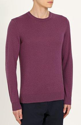 Пуловер из смеси хлопка и кашемира | Фото №3