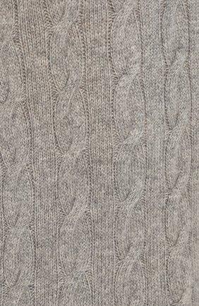 Кашемировый джемпер фактурной вязки | Фото №5