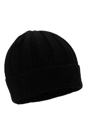 Мужская кашемировая шапка FTC черного цвета, арт. 008-0252 | Фото 1