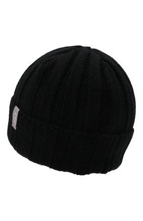 Мужская кашемировая шапка FTC черного цвета, арт. 008-0252 | Фото 2