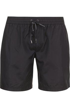 Плавки-шорты с карманами Dolce & Gabbana черные | Фото №1