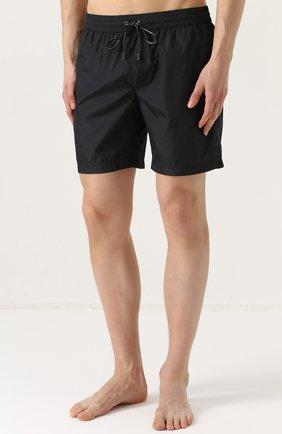Плавки-шорты с карманами Dolce & Gabbana черные | Фото №3