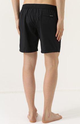 Плавки-шорты с карманами Dolce & Gabbana черные | Фото №4