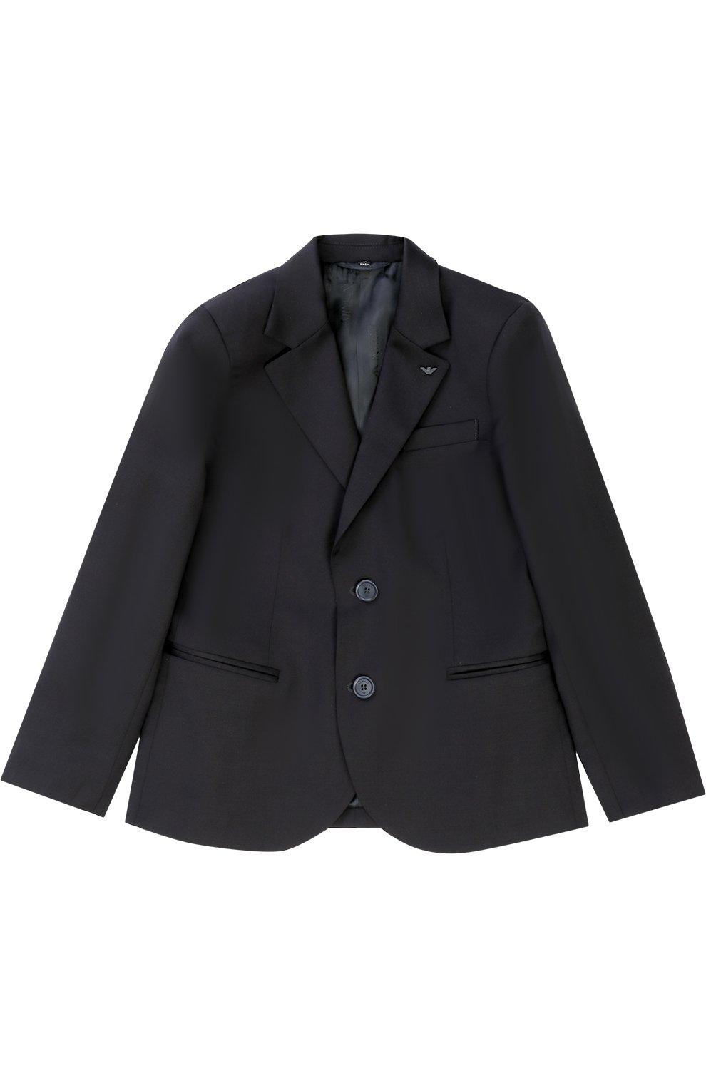 Шерстяной костюм из пиджака и брюк | Фото №2