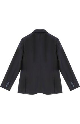 Шерстяной костюм из пиджака и брюк | Фото №3