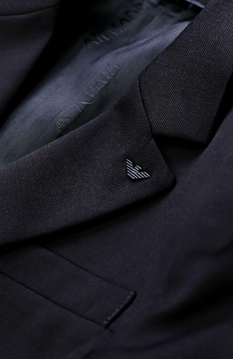 Шерстяной костюм из пиджака и брюк | Фото №6