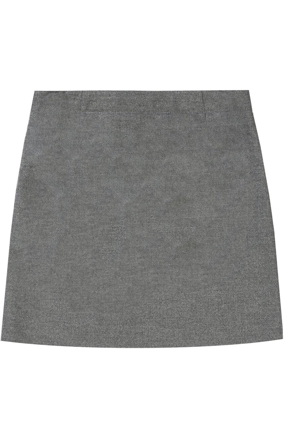 Мини-юбка с защипами | Фото №2