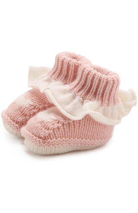 Кашемировые носки с оборкой | Фото №1