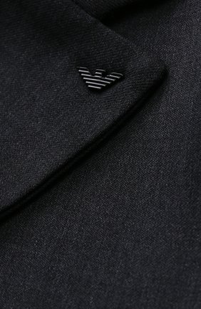 Шерстяной костюм с пиджаком на двух пуговицах | Фото №6