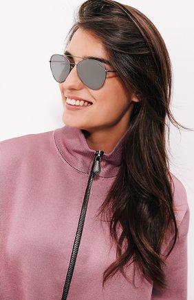 Женские солнцезащитные очки prada linea rossa PRADA серебряного цвета, арт. 50SS-7CQ5L0   Фото 2