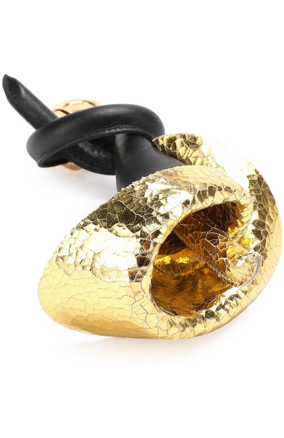 Кожаный брелок для ключей Calla | Фото №4