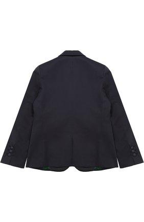 Однобортный пиджак из хлопка | Фото №2