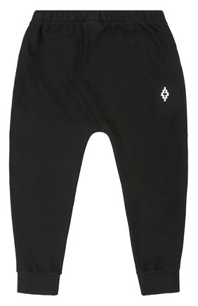 Спортивные брюки из хлопка с логотипом бренда | Фото №1