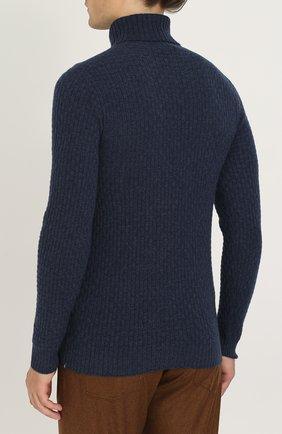 Кашемировый свитер фактурной вязки | Фото №4