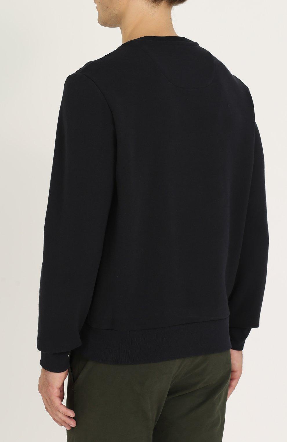 Хлопковый свитшот с принтом | Фото №4