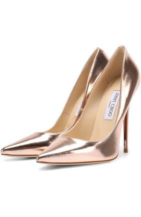 Туфли Anouk из металлизированной кожи на шпильке | Фото №1