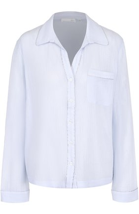 Жатая блуза свободного кроя | Фото №1