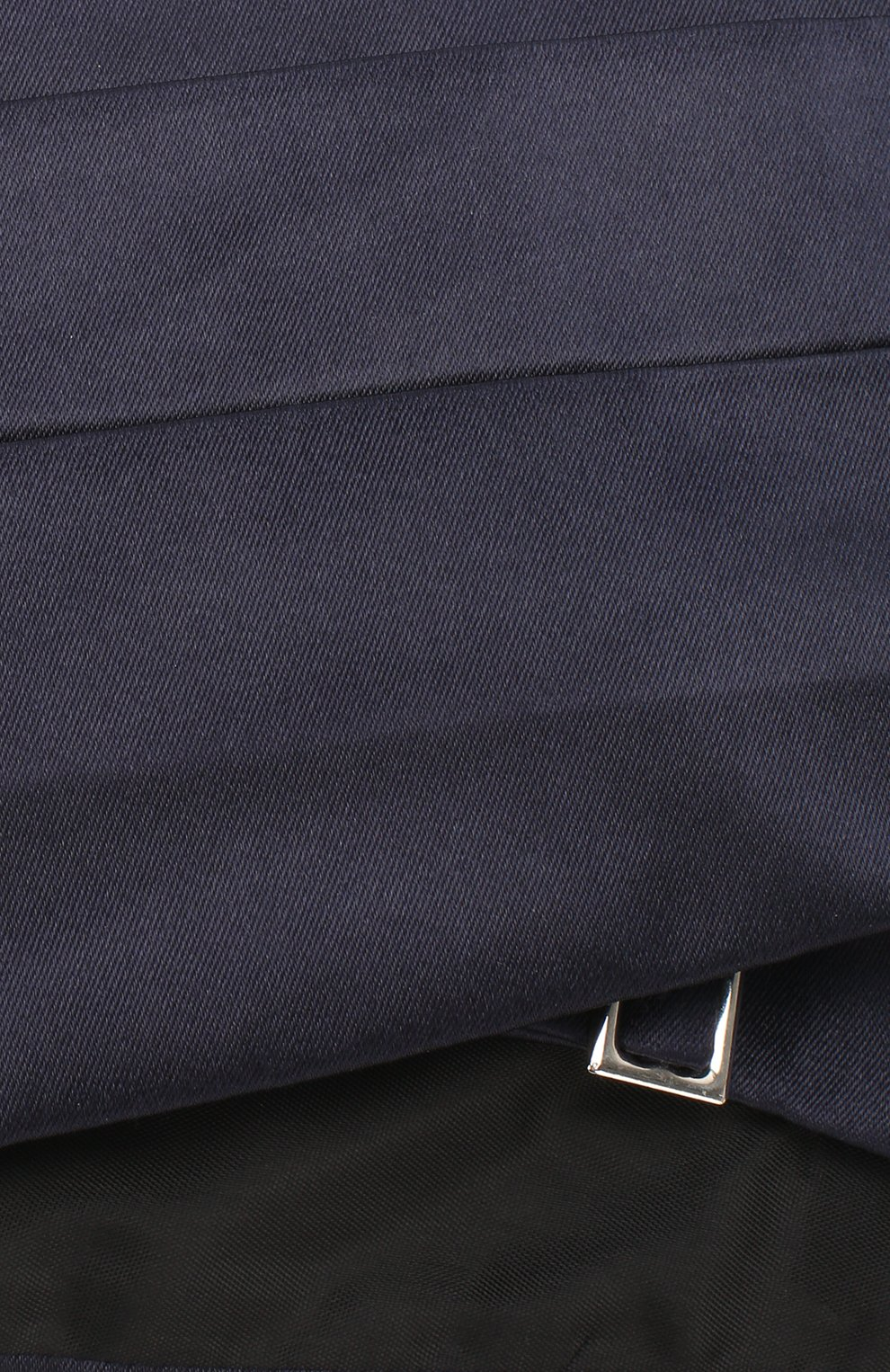 Мужской шелковый камербанд GIORGIO ARMANI темно-синего цвета, арт. 360033/7P998 | Фото 3