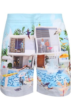 Плавки-шорты с принтом   Фото №1