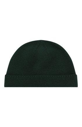 Детского шерстяная шапка GUCCI зеленого цвета, арт. 459431/4K638 | Фото 1