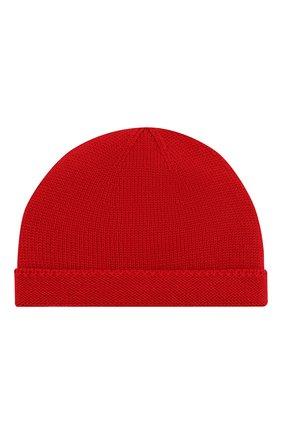 Детского шерстяная шапка GUCCI красного цвета, арт. 459431/4K638 | Фото 1
