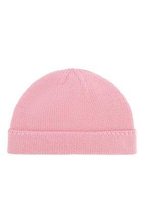 Детского шерстяная шапка GUCCI розового цвета, арт. 459431/4K638 | Фото 1