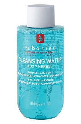 Очищающая мицеллярная вода 7 трав Erborian | Фото №1