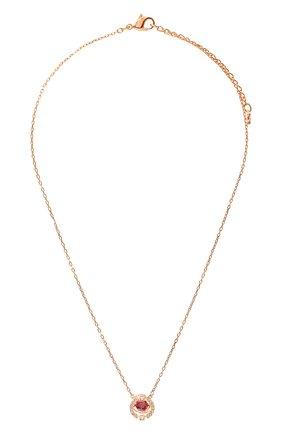 Кулон Sparkling Swarovski золотая | Фото №1