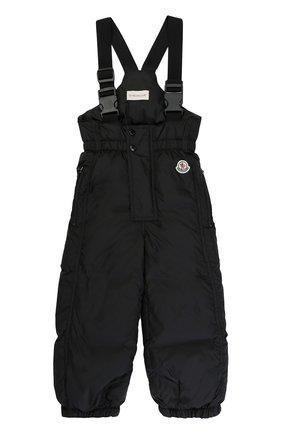 Детский пуховый комбинезон MONCLER ENFANT черного цвета, арт. C2-951-14331-05-68352   Фото 1